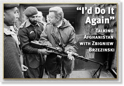 Brzezinski Afghanistan terrorists