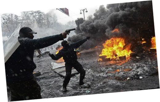 maidan protests gun