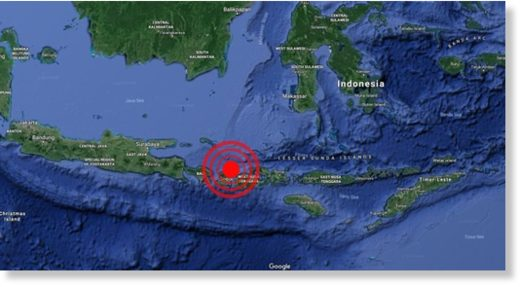 A second earthquake has hit in the northeast of Lombok in less than 24 hours
