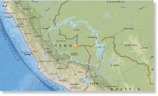Peru has been rocked by a 7.1 magnitude earthquake