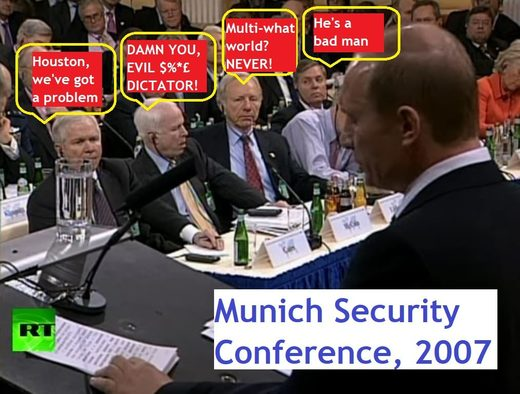 putin munich conference 2007 meme