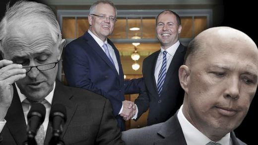 australia prime minister turnbull morrison dutton