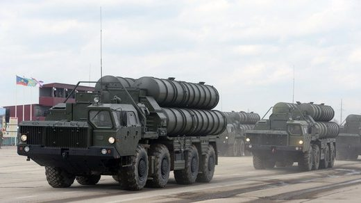 Russian S-400 missile system