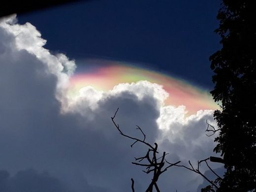 iridescent cloud mexico