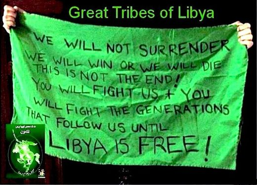 A combined army of Libyan tribes fight UN-backed terrorist militias in Tripoli