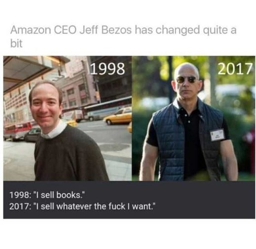 Jeff Bezos transition