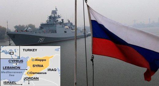 russia military drills mediterranean syria