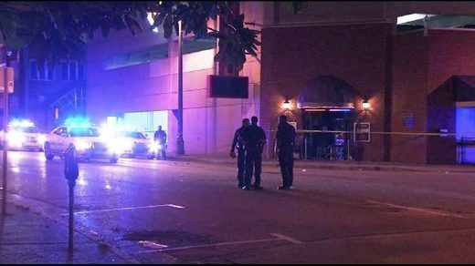 Four shot, one in critical condition after gunman opens ...
