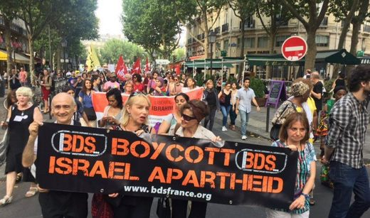 Supporters of BDS in France