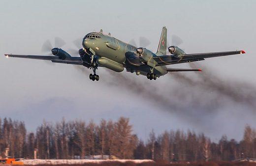 Russian II-20 reconnaissance aircraft