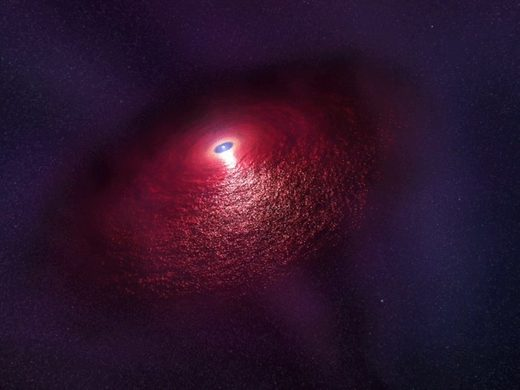 Mysterious infrared signal from a neutron star detected by researchers