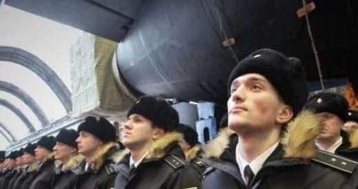 Members of Russian Navy