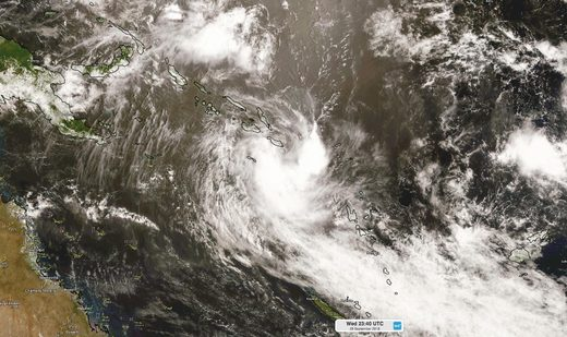 Tropical Cyclone Liua
