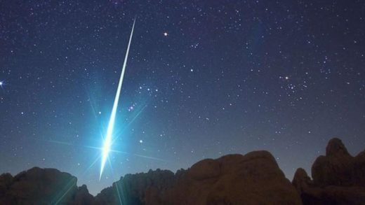 Fireball over MI and other states