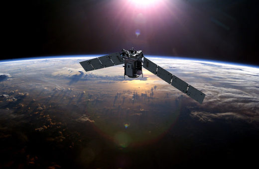 The TIMED satellite monitoring the temperature of the upper atmosphere