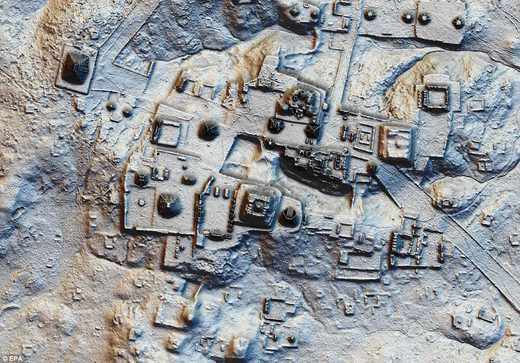Lasers reveal 60,000 ancient Mayan structures hidden in Guatemalan forest 48F8D5ED00000578_0_image_a_41_