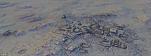 Lasers reveal 60,000 ancient Mayan structures hidden in Guatemalan forest 48F8D5E500000578_0_image_a_44_