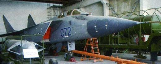 MiG-31D  79M8 Kontakt missile