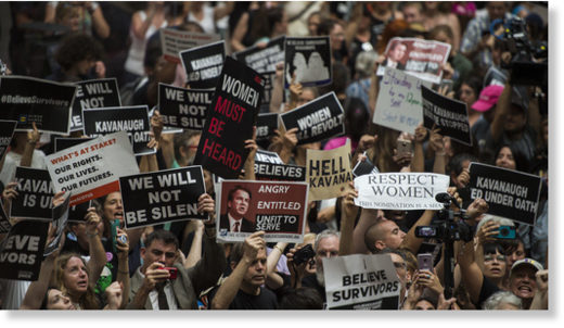 kavanaugh protests