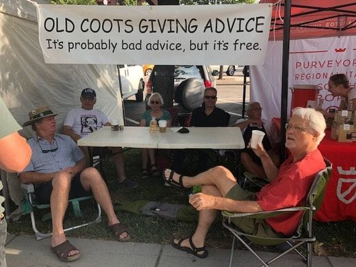 old coots farmers market advice