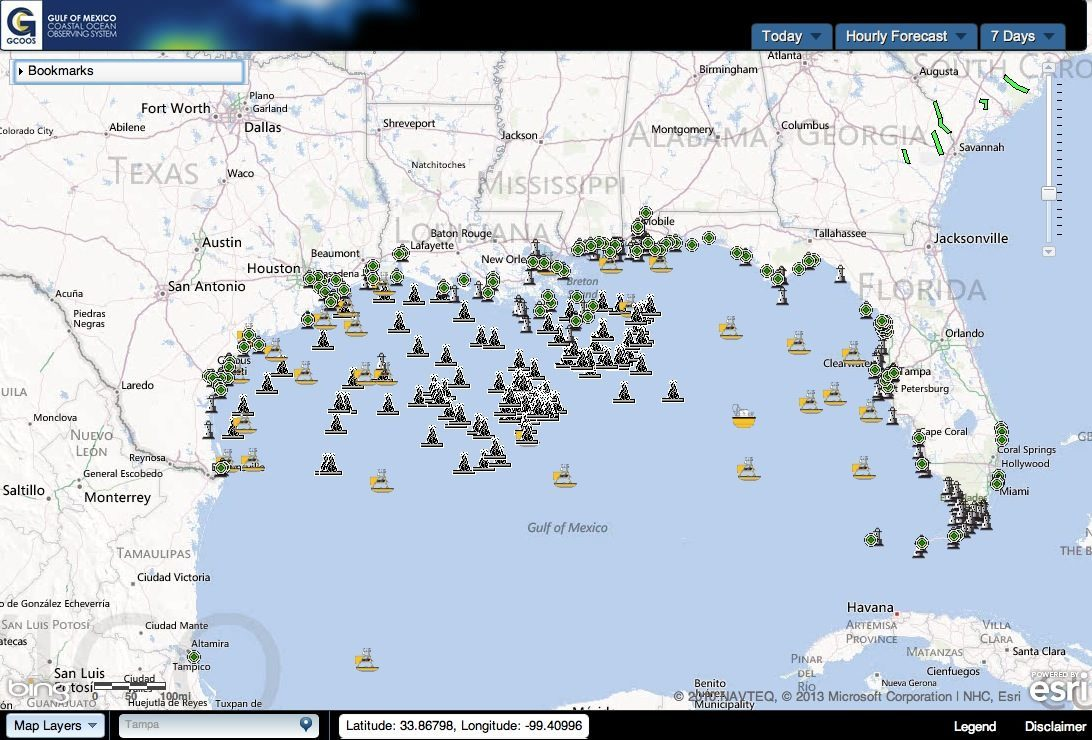 Oil Rigs In Gulf Of Mexico Map.Hurricane Michael Shutters Nearly Half Of Oil Production In Gulf Of