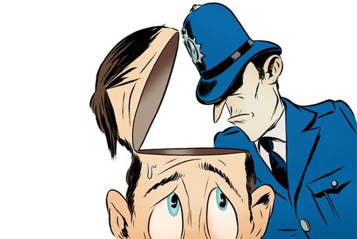 thought crime cartoon
