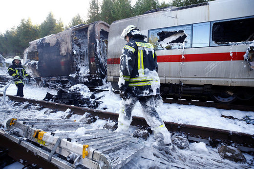Munich train fire Oct 11 2018