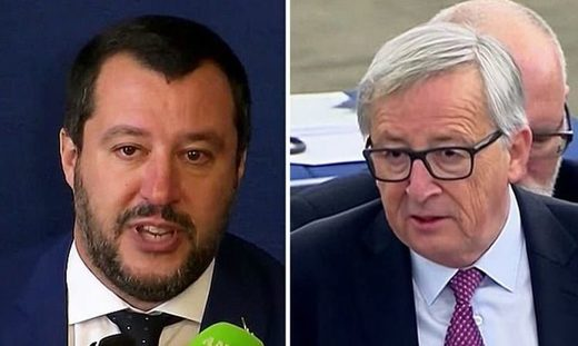 Matteo Salvini and Junkerr