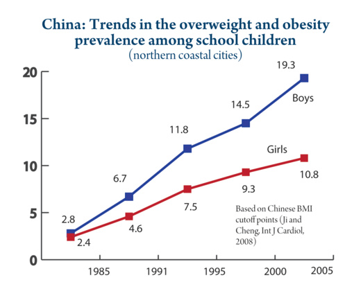 chinese overweight