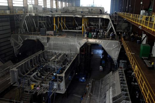 construction of USS Independence LCS-2