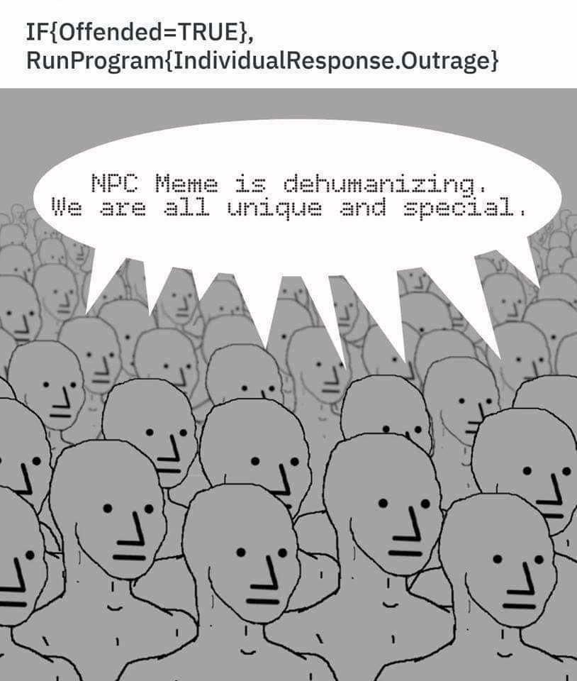 The New Alt Right Npc Meme Is Legitimately Terrifying Resetera