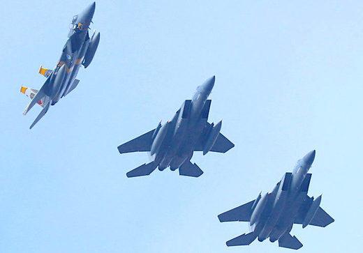USAF F-15 fighter jets