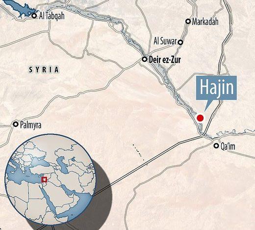 Hajin Deir ez-Zor Syria Euphrates