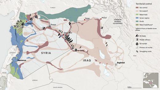 ISIS oil Syria