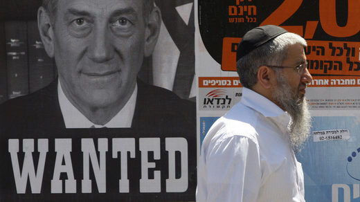 Ex-Israeli PM Olmert interview: 'Big operation' financed by 'rich American Jews' brought me down