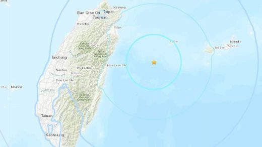 Strong magnitude 6.0 earthquake rocks Taiwan