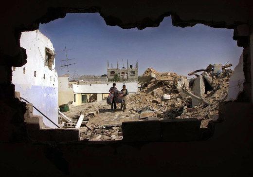 rafah refugee camp destruction