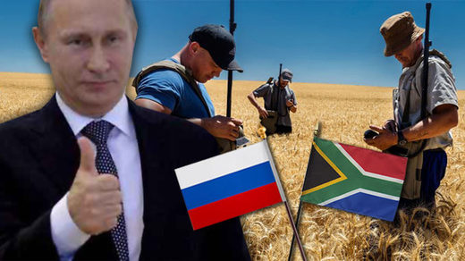 Putin offer land white south african farmers