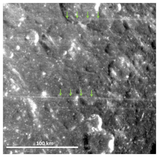 Dione's Lineaer Features