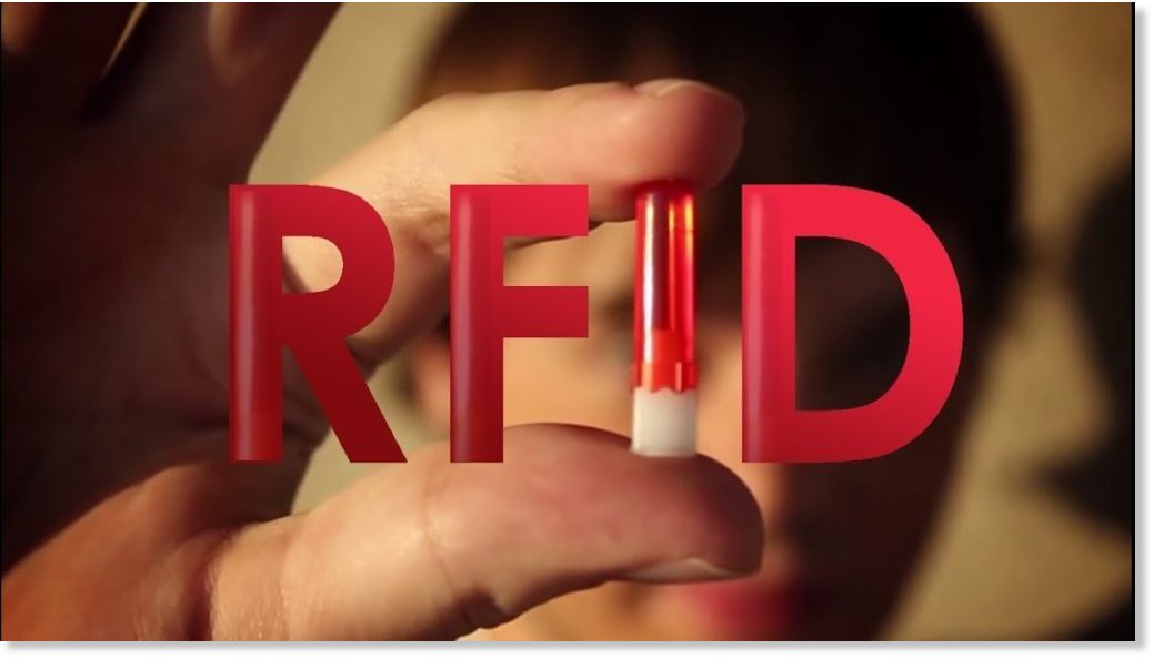 Promotion of RFID - the chipping of people - is going