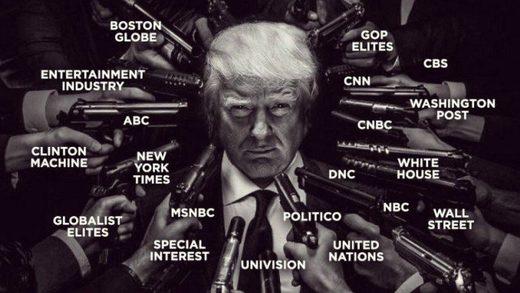 trump globalists media