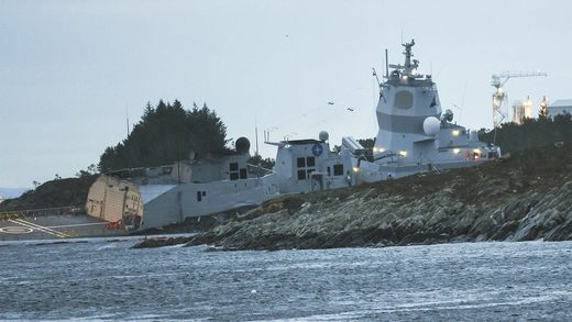 aegis norwegian ship nato