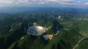 FAST - China's New Deep Space Radio Telescope - Larger than Arecibo