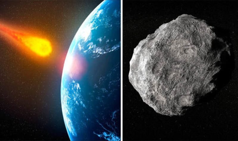Two gigantic asteroids will zip past earth today, warns ...
