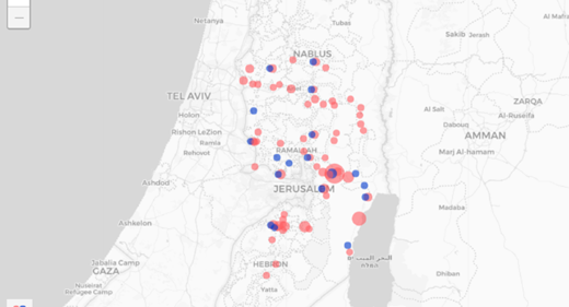 AirBnb locations illegal settlements israel