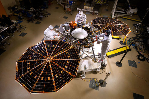 NASA InSight Mars Lander