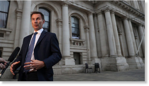 UK's Foreign Secretary Jeremy Hunt