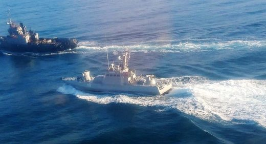 ukraine ships detained black sea kerch