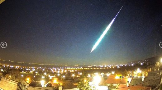hungary fireball
