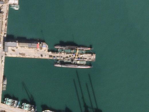 Bohai Chinese Naval facility